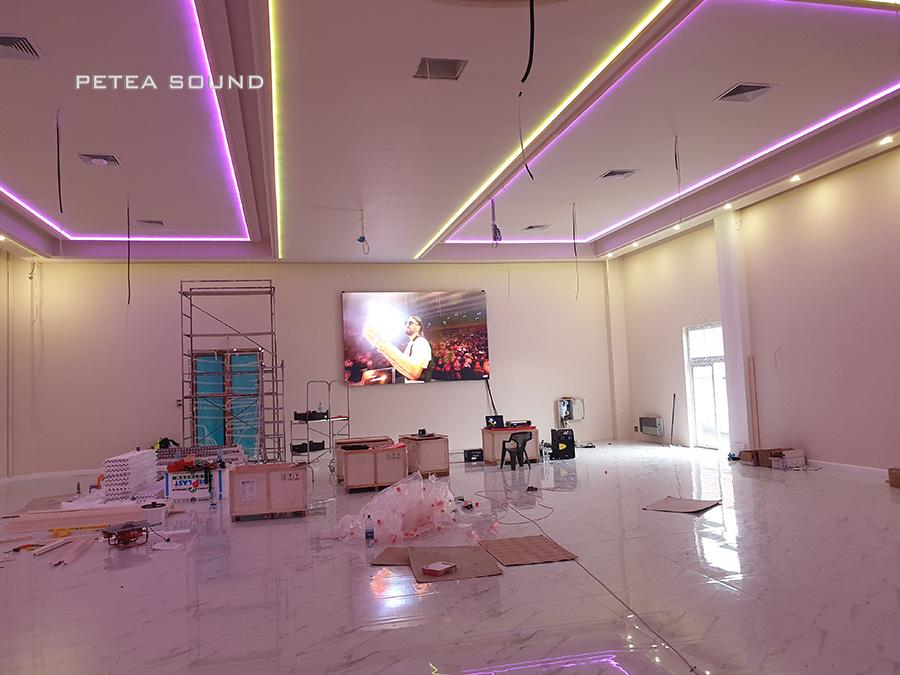 Ecran LED interior