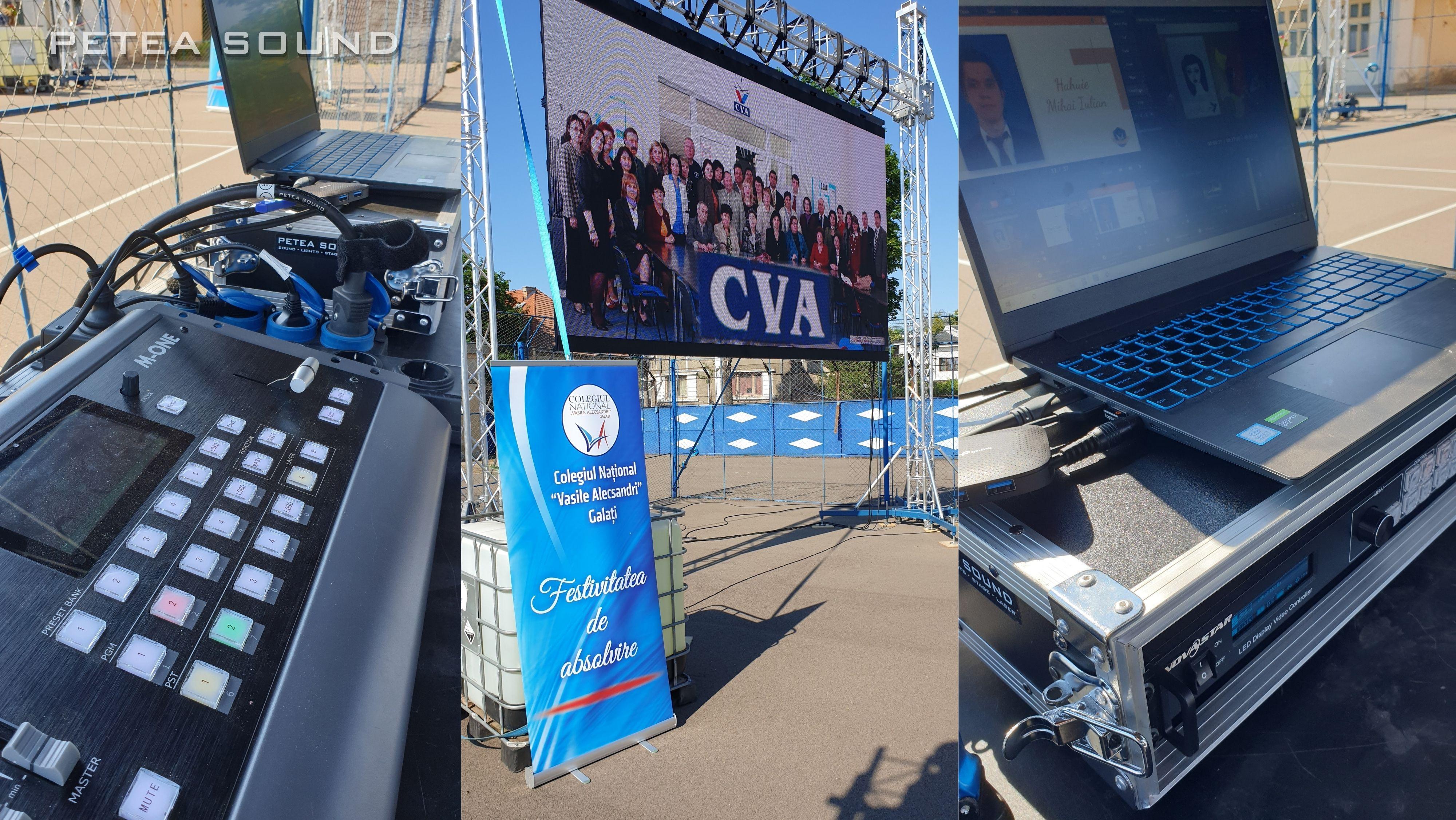 Ecran LED Eveniment Outdoor CNVA GALATI 2021