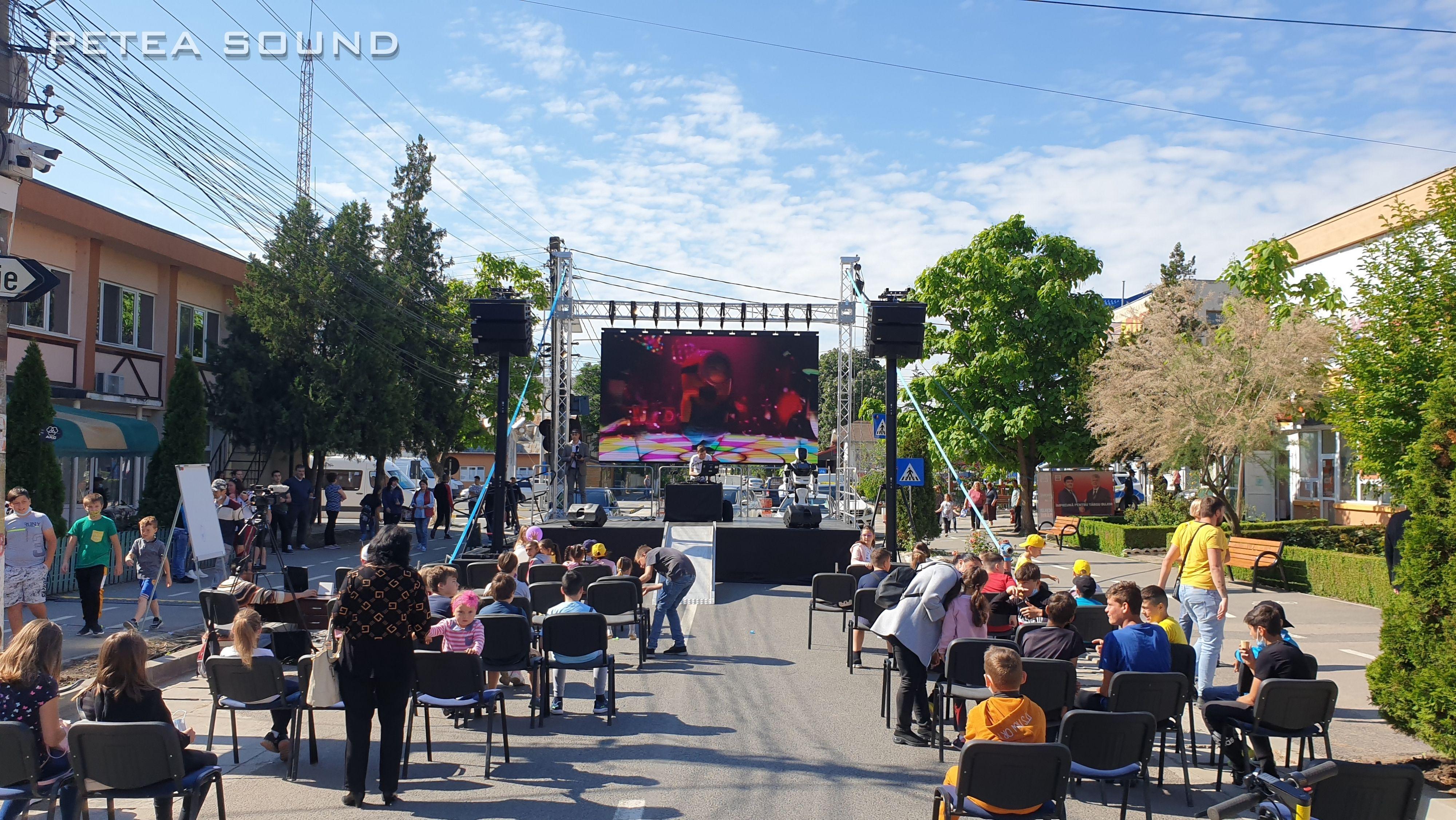 Ecran LED Carnavalul Veseliei Targu Bujor 2021