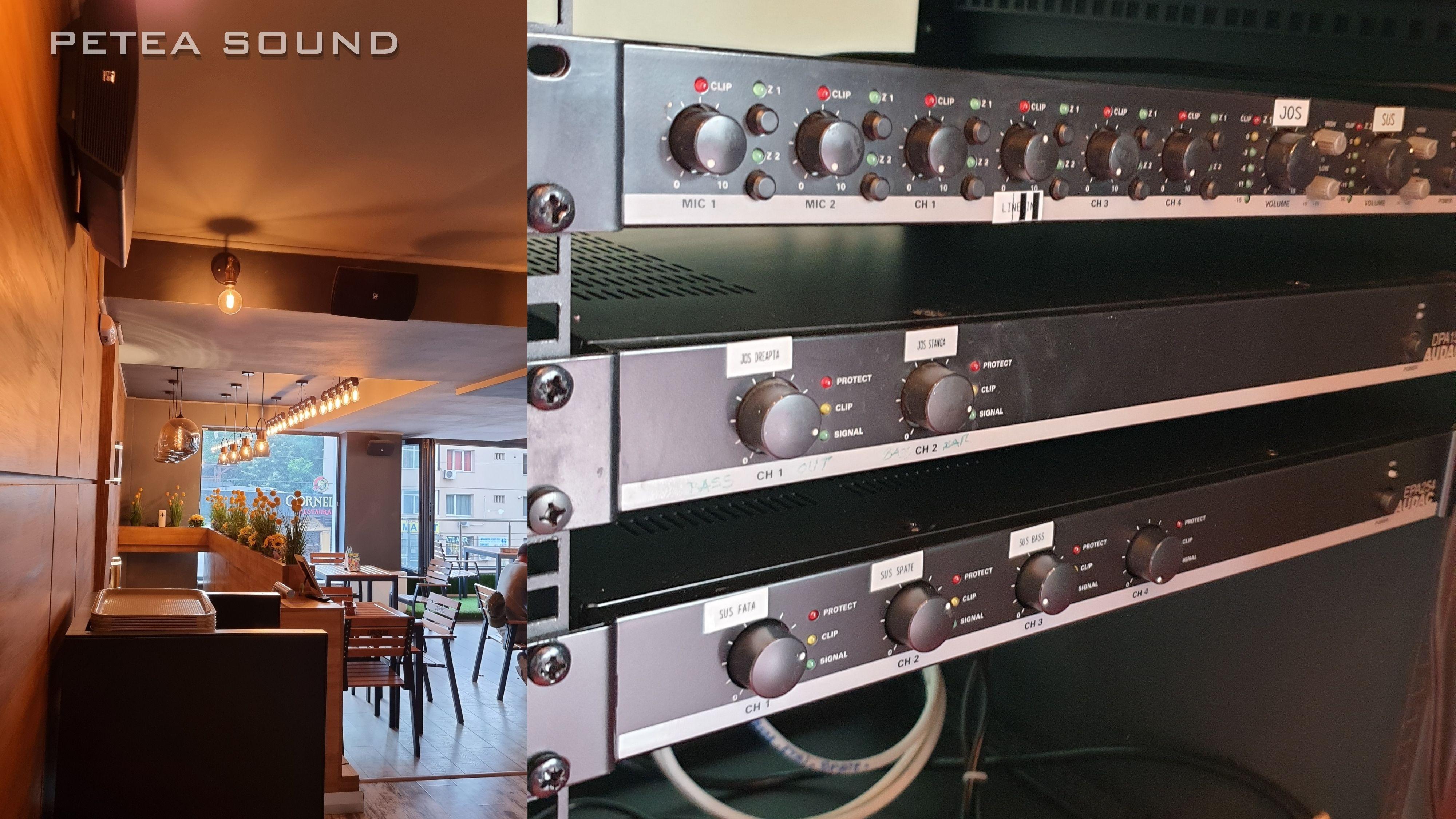 Proiectare Instalare sistem audio AUDAC - ATEO 6